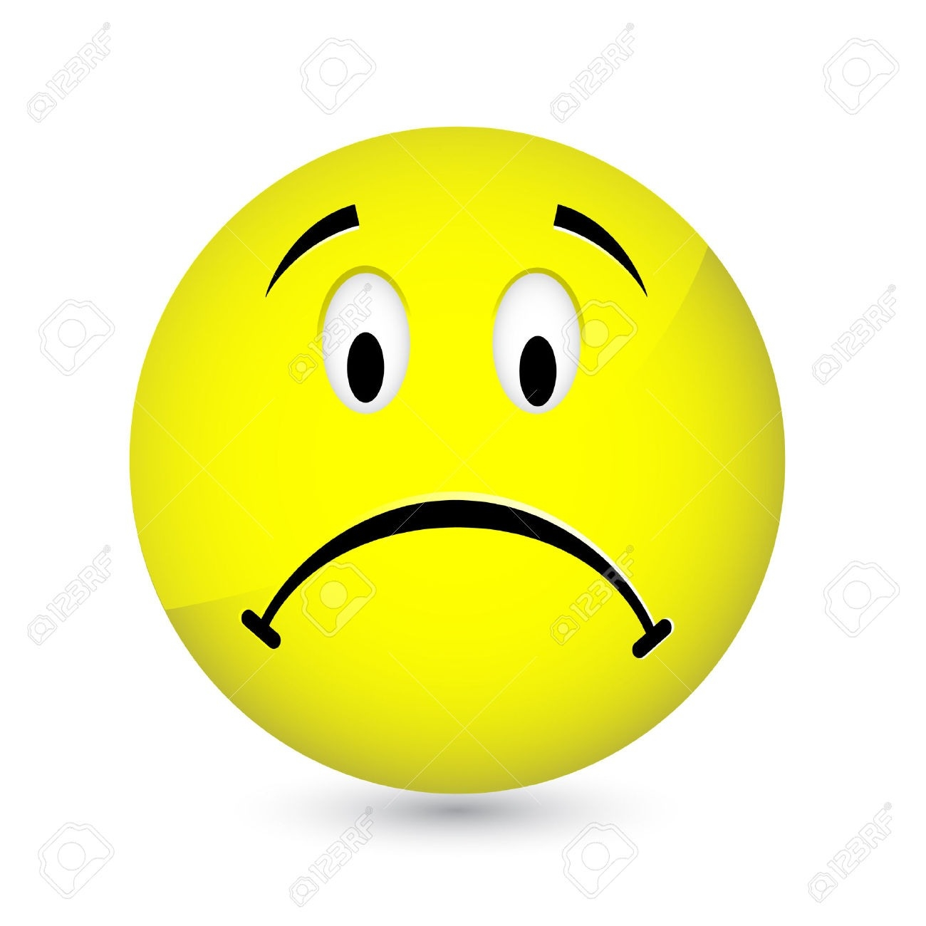 Crying Smiley Face Clipart.