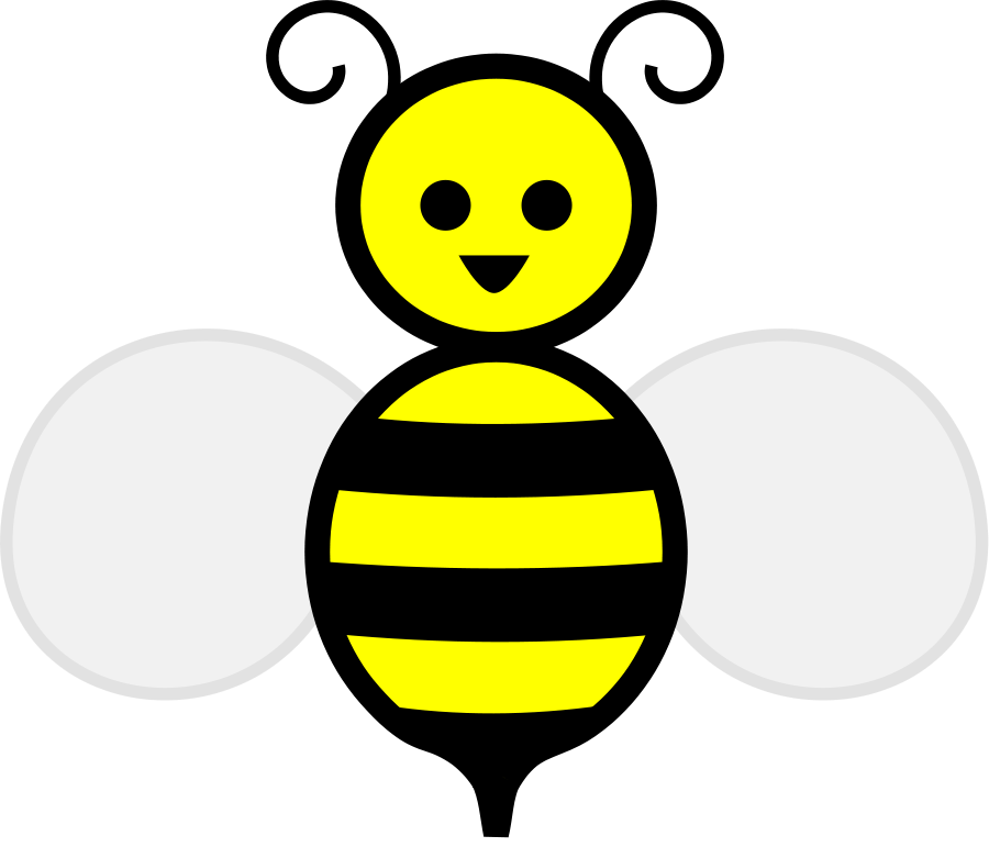Spring With Bee SVG Vector File, Vector #90467.