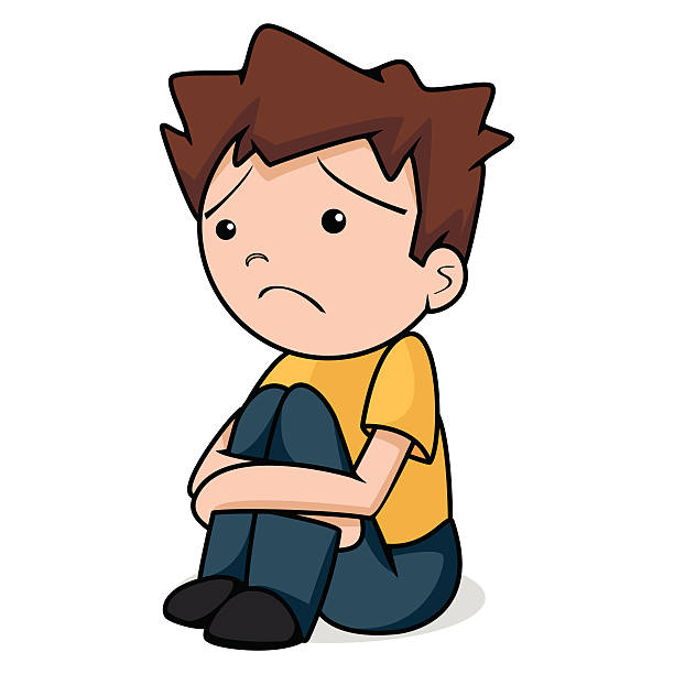 Sad boy clipart » Clipart Station.