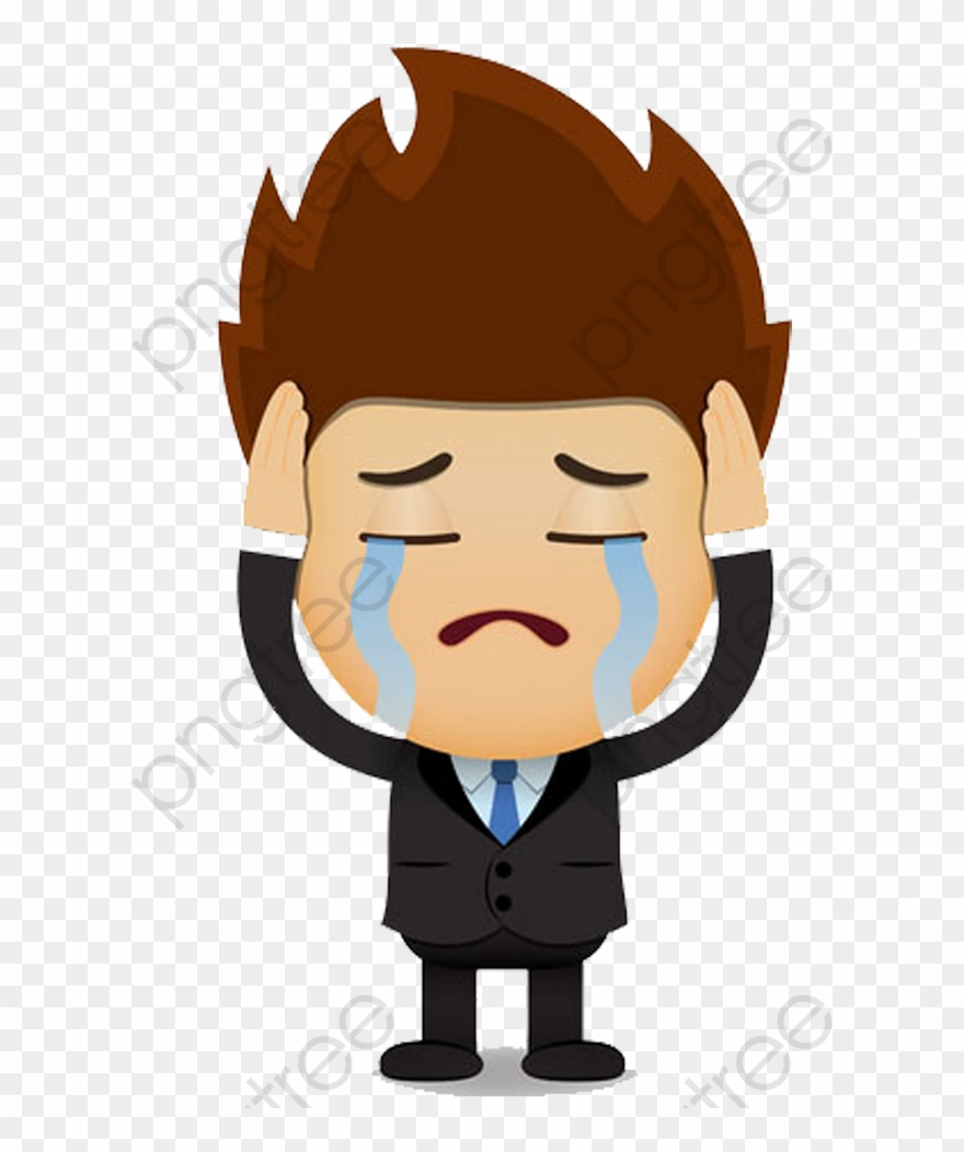 Man Clipart Sad.