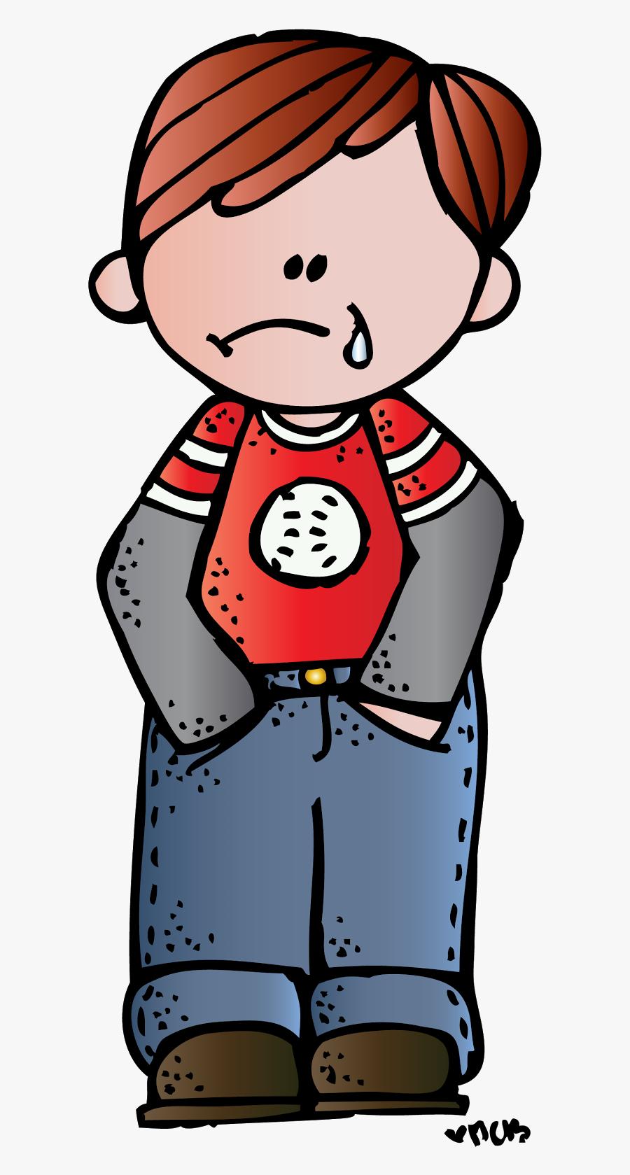 Melonheadz Sad Kid , Free Transparent Clipart.