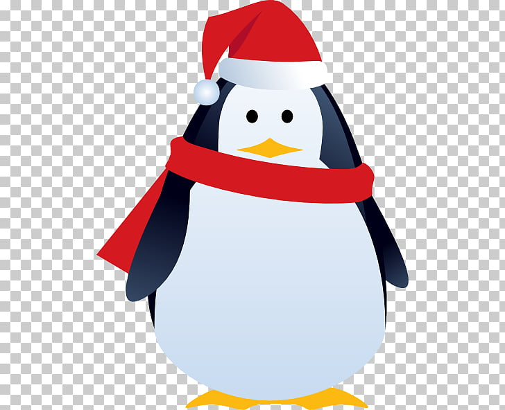Penguin Christmas , Sad Penguin s PNG clipart.