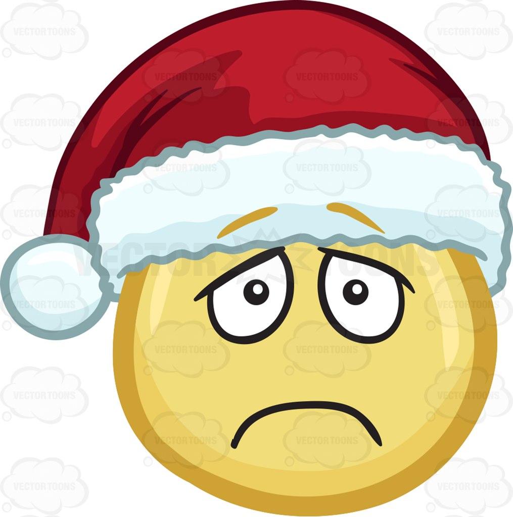 Sad Santa Clipart.