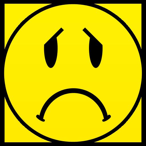 78+ Sad Face Clip Art.