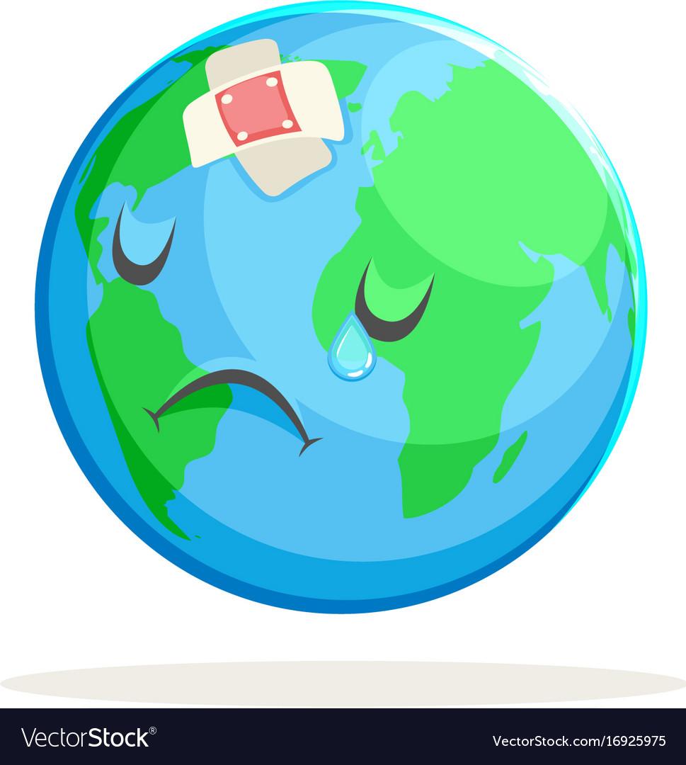 Sad World Clipart.