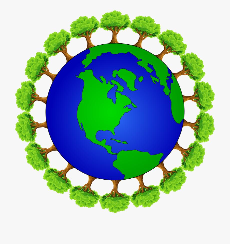 Earth Clipart Circle.
