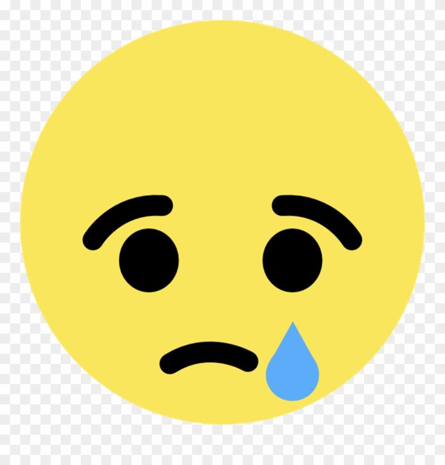 Facebook Sad Emoji Png Clipart (#2639041).