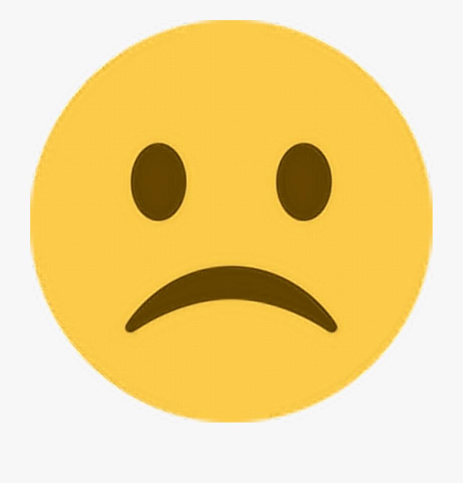 Emoji Clipart Sadness.