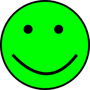 Happy Smiling Face Clip Art at Clker.com.