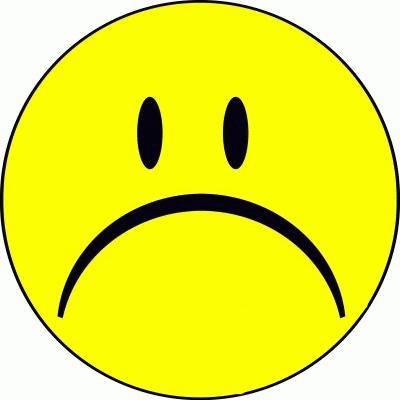 Sad Smiley Faces.