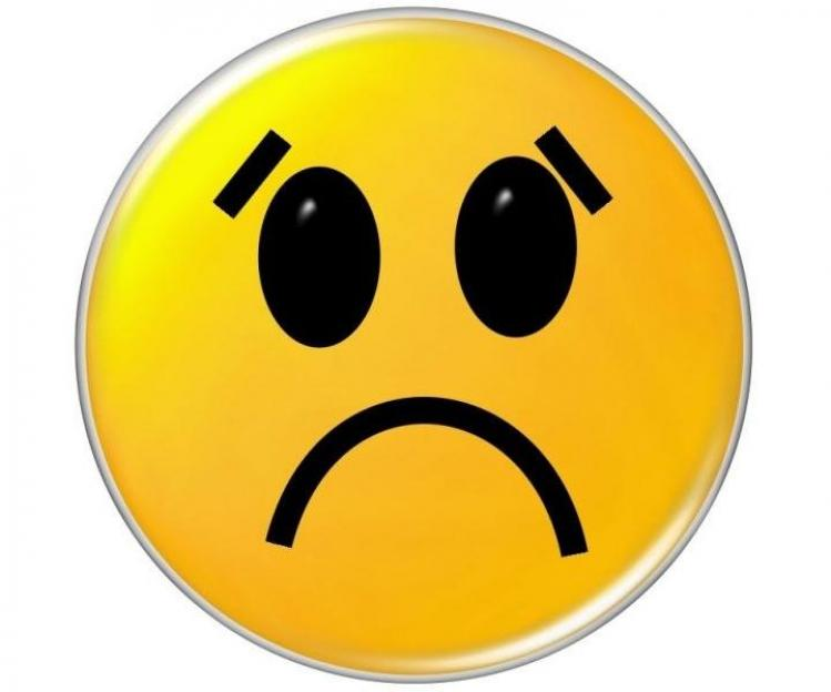 Happy and sad face clipart 2.