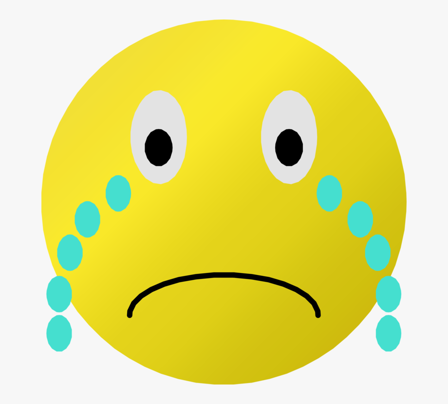 Clipart Crying Smiley Face.
