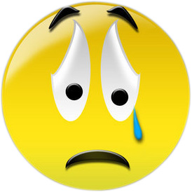 Clipart Sad Face Crying.