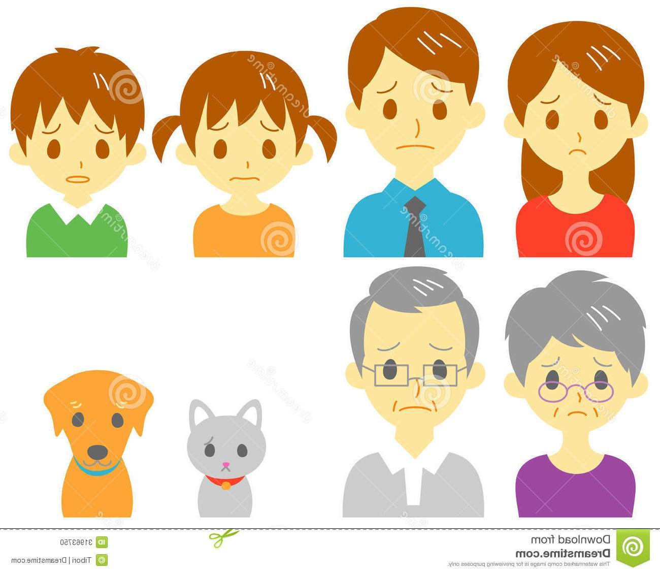 Best Sad Family Clip Art Pictures » Free Vector Art, Images.