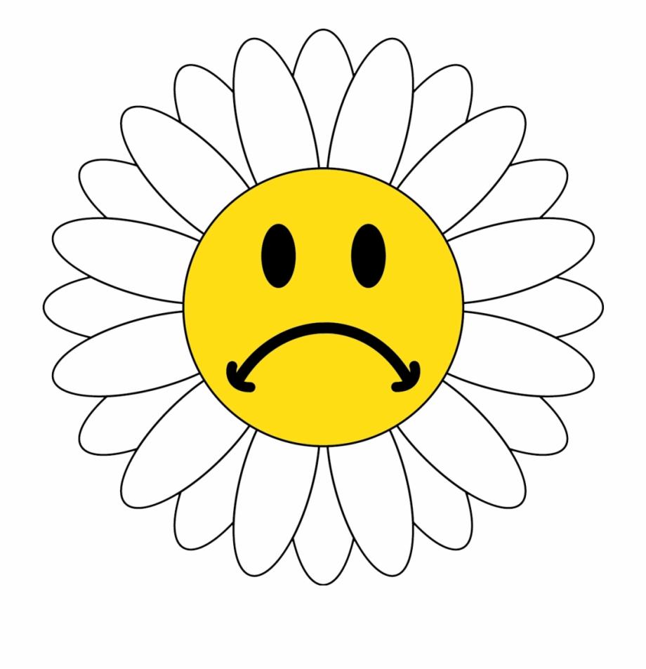 Sad Flower Clipart.