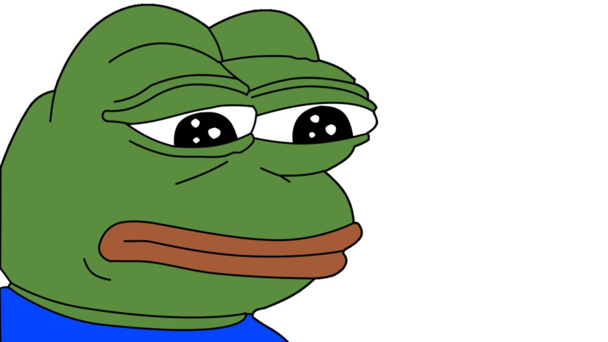 "Read This: Could images of 4chan's ""sad frog"" meme actually be."