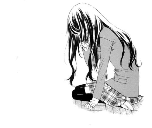 Sad Girl PNG Free Image.