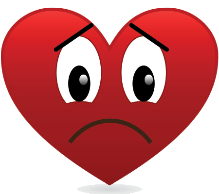 Sad Heart Png & Free Sad Heart.png Transparent Images #57434.