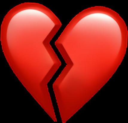 Heart Broken Brokenheart Sad Red Hearts.