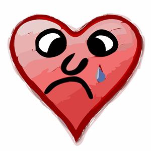 Heavy heart clipart, cliparts of Heavy heart free download.
