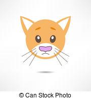 Vector Clipart of Sad kitten csp3735340.