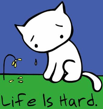 Sad Kitten Clipart.