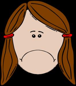 Sad Girl Clip Art at Clker.com.