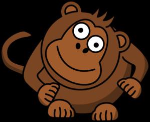 Sad Monkey Clipart