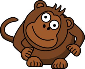 monkey search vector clip arts Page 3.