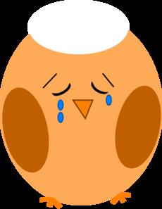 Sad Owl Clip Art.