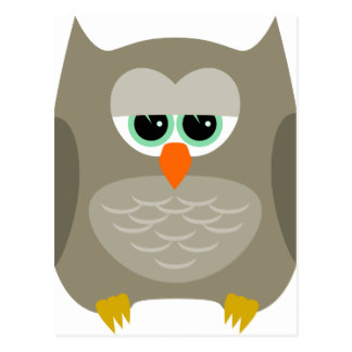 Sad Owl Clipart.