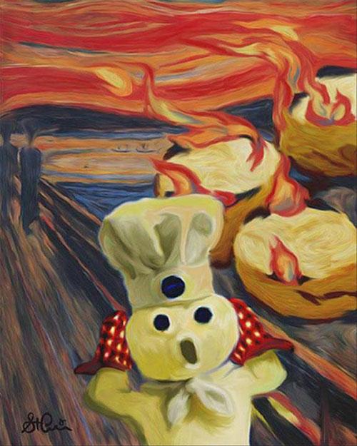 Six Poppin' Fresh Takes on the Pillsbury Doughboy.