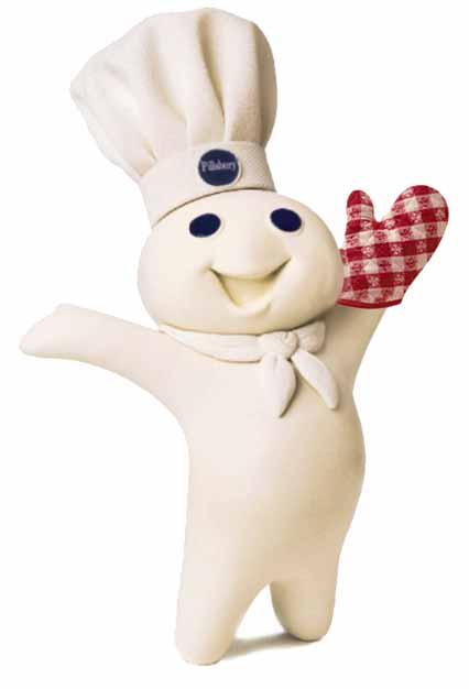 Pillsbury Doughboy.