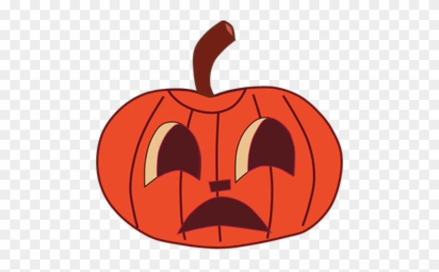 Halloween Clipart Clipart Painted Pumpkin.