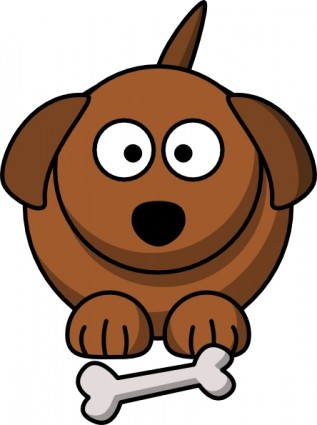 Sad Puppy Clipart.