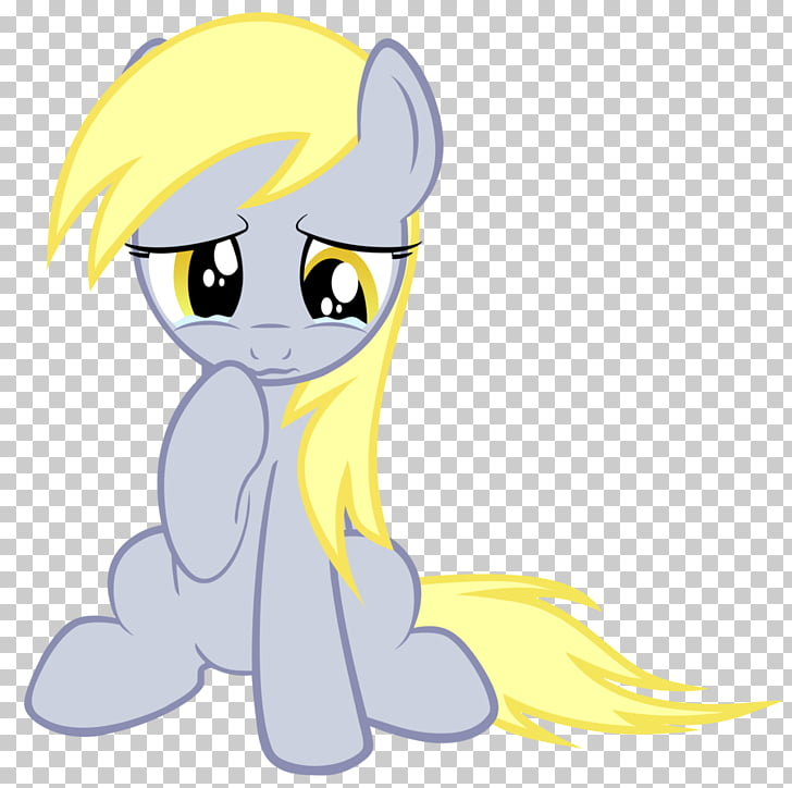 Pony Derpy Hooves Rarity Sadness Crying, sad react PNG.