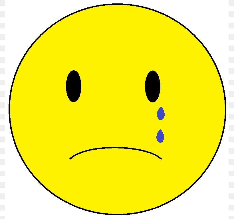 Sadness Smiley Face Clip Art, PNG, 783x770px, Sadness, Area.