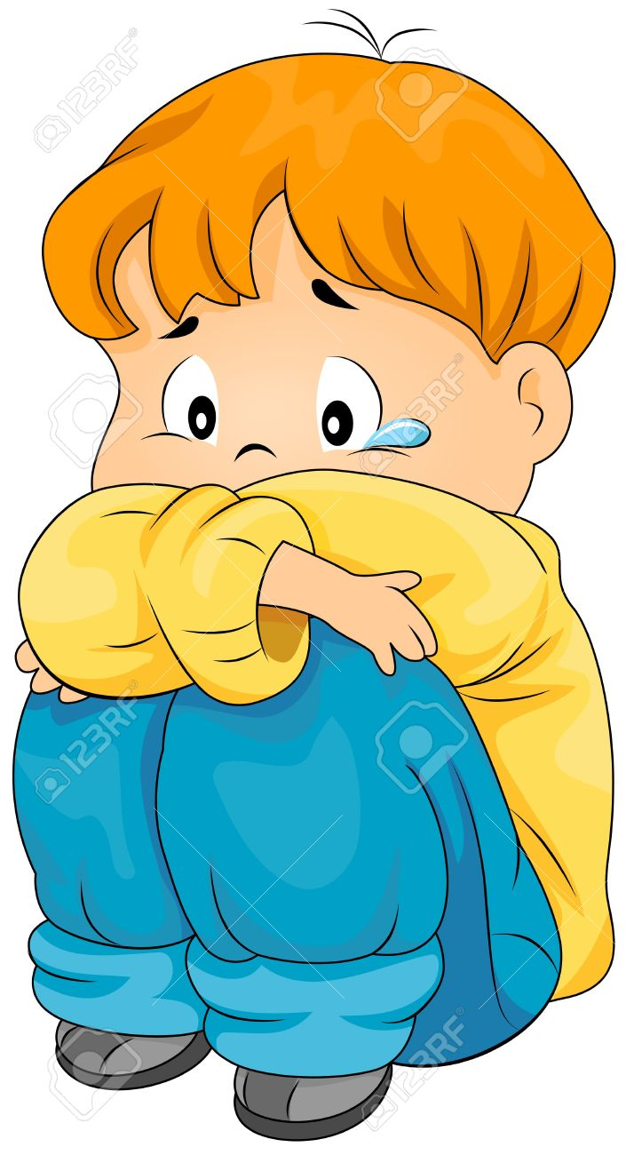 When i am upset student clipart.