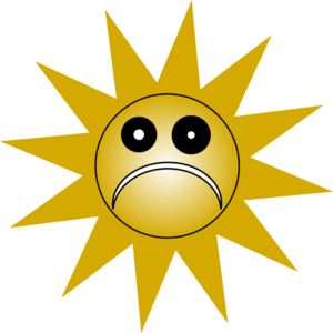 Grumpy Sad Sun Clip Art at Clker.com.
