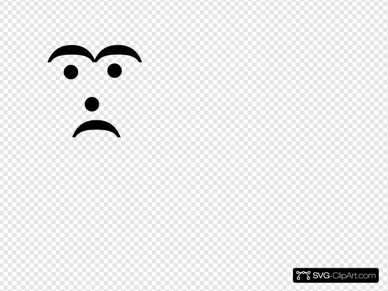 Text Smiley Sad Melancholy Clip art, Icon and SVG.