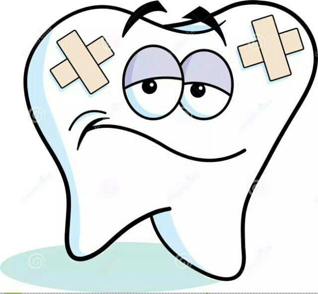 Sad tooth clipart 2 » Clipart Station.