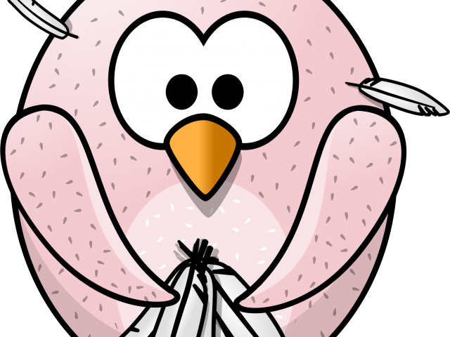 Turkey Bird Clipart Sad.