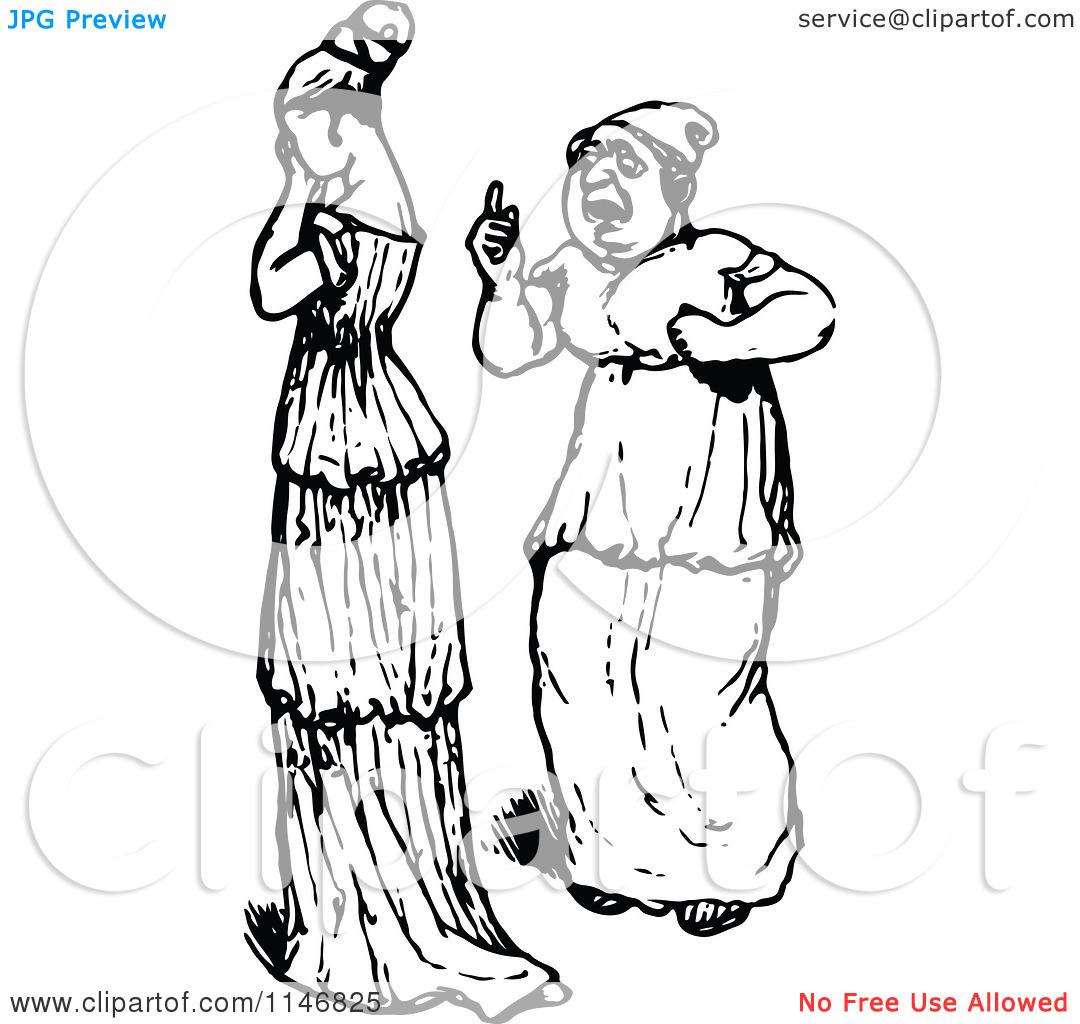 Sad Woman Talking Clipart Black And White.