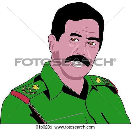 Saddam hussein clipart #20