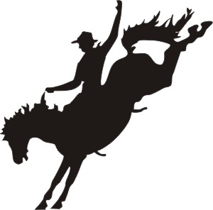 Free Rodeo Silhouette Cliparts, Download Free Clip Art, Free.