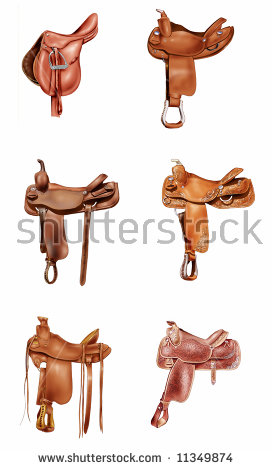 Saddle.