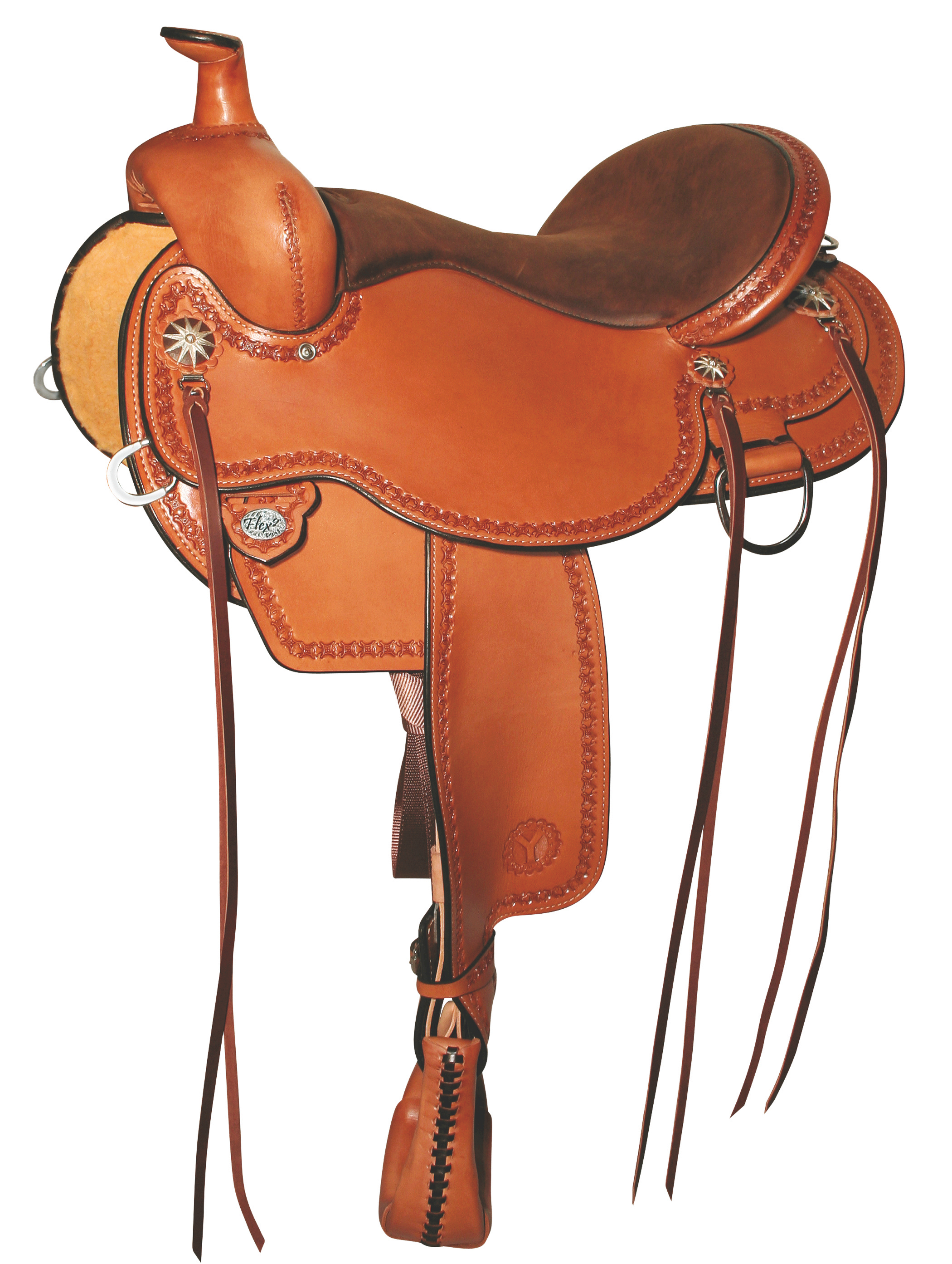 Y Birdseye Flex2 Trail Saddle.