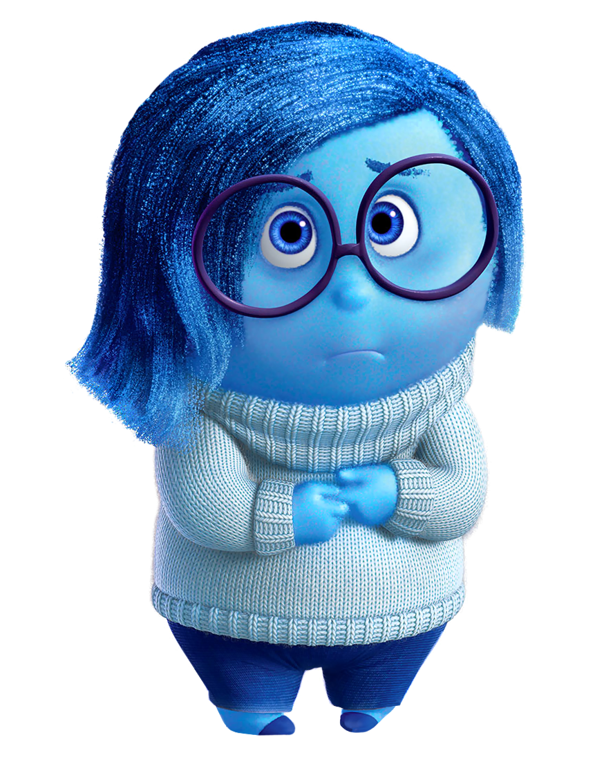 Sadness Inside Out PNG Clip.
