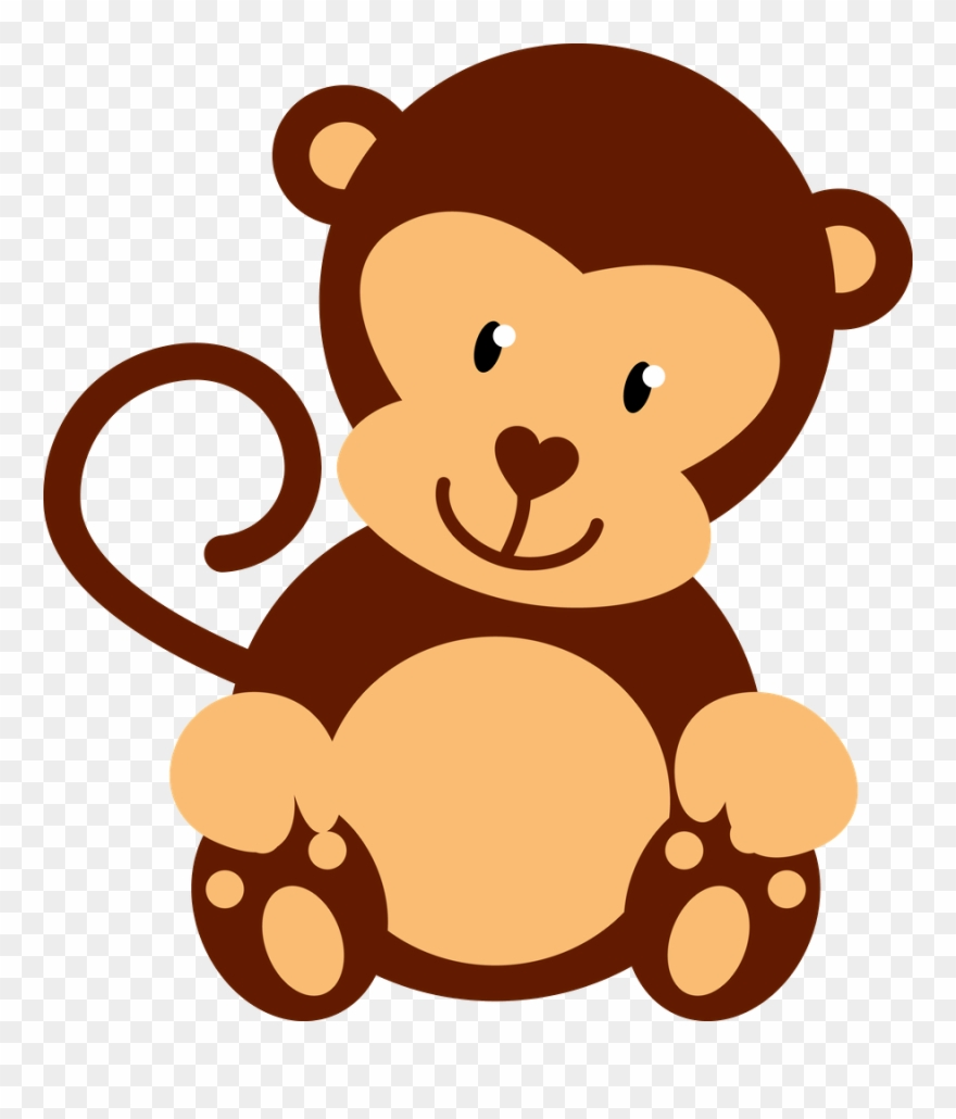 ○‿✿⁀monkeys‿✿⁀○ Monkeys, Clip Art, Scribble,.