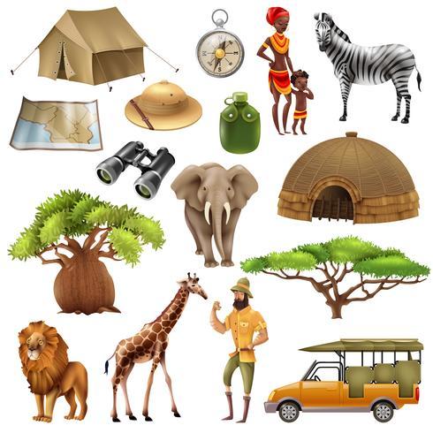 Safari Set Icon Set.